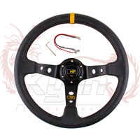 """KYLIN - 14"""" 350MM MP Steering Wheel PVC Leather Steering Wheel 14 inch MP Steering Wheel Deep Corn Dish Wholesale and Retailer"""