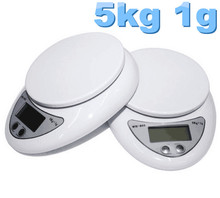 Buy 5pcs New 5000g/1g 5kg Food Diet Postal Kitchen cooking Digital Scale scales balance weight weighting LED electronic for $39.90 in AliExpress store