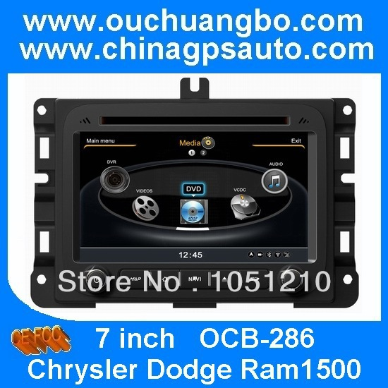 Ouchuangbo 7 Inch 2 Din Car DVD player With USB,SD,Bluetooth ,TV For Chrysler Dodge Ram1500(China (Mainland))