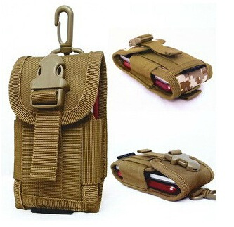 Outdoor men Tactical TAB Mobile Phone Bag For 5 5 Inch Screen Sports Nylon Molle Waist