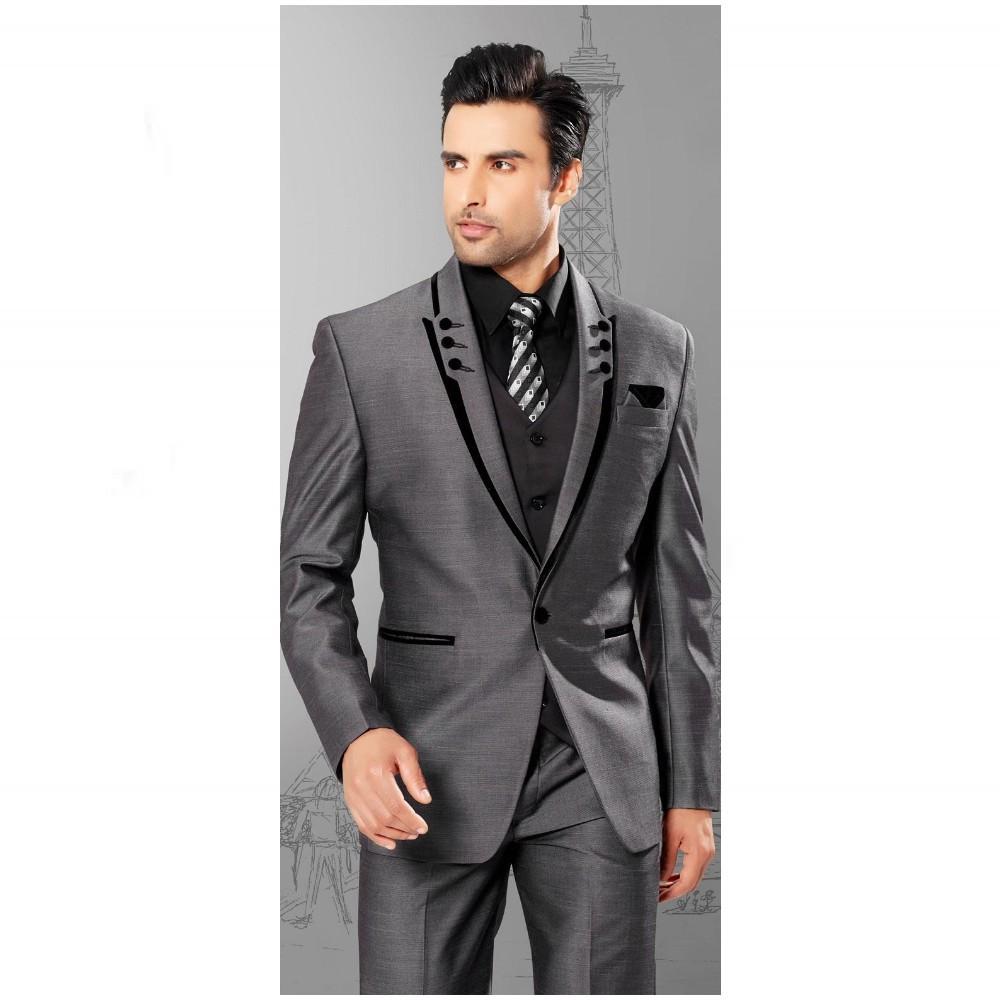 Peaked Lapel Tuxedos  Men Suits Tuxedos Groomsman Men Wedding Suits
