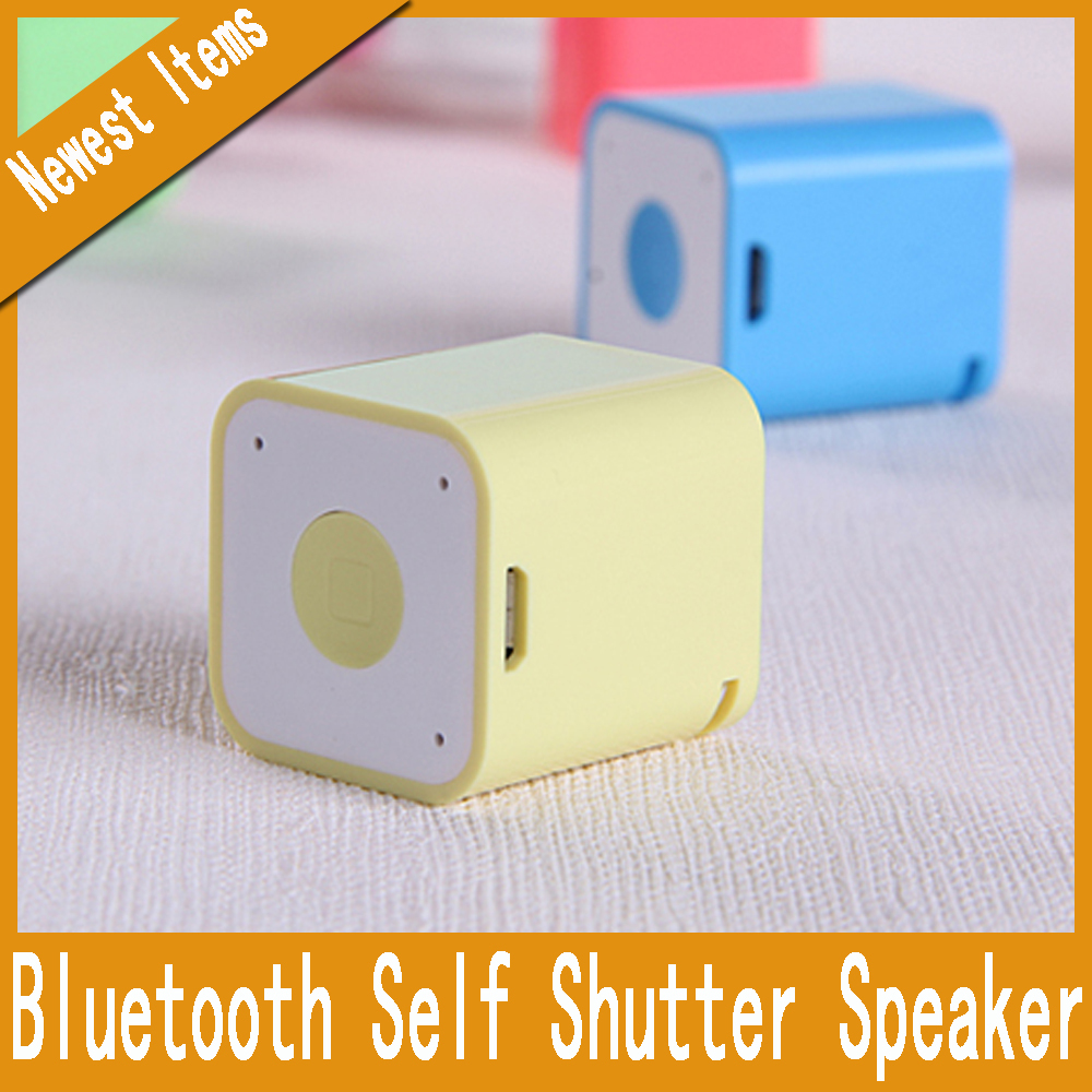 Smallest Bluetooth Speaker Smart Sound Box Music Player Speaker with Anti-Lost Camera Remote Shutter Function(China (Mainland))