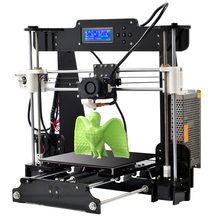 2016 New Upgraded Quality High Precision Reprap Prusa I3 X DIY Full Acrylic 3d Printer Kits