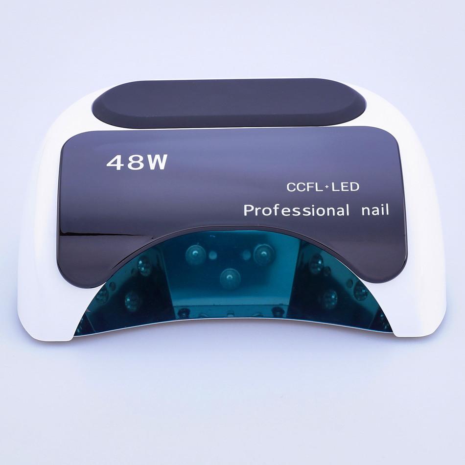 Professional 48 W CCFL LED Lamp Nail Dryer For Nail Gel Polish Curing Nails Lamp Dryers Art Manicure Automatic sensor US EU Plug