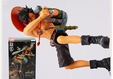 1pcs One Piece Luffy Portgas D Ace Fire fist Top Battle 4 Roronoa Zoro New World Anime Figuarts Trafalgar PVC 15CM Boxed Toy