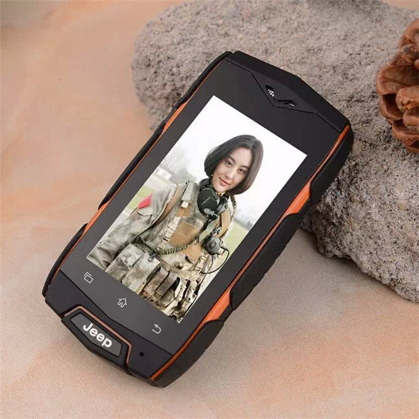 New JEEP V10 2.4 inch MINI Smart Phone Android 4.3 MTK6572 Cell Phone Waterproof Dustproof Shockproof Dual SIM WIFI 3G Mobile(China (Mainland))