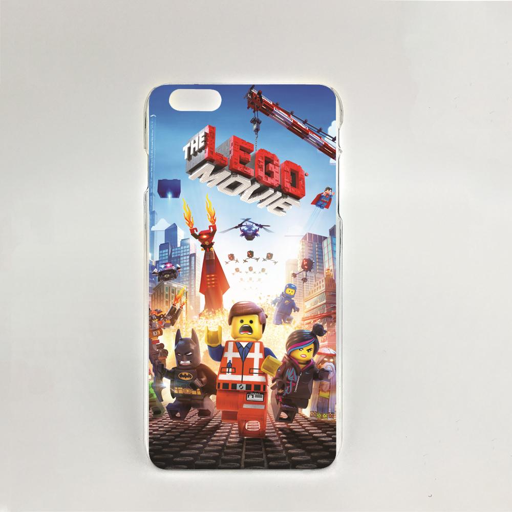 06637 Lego o Filme Hard transparent Cover Skin Back Case for iPhone 4 4S 5 5S 5C 6 6S Plus 6SPlus(China (Mainland))