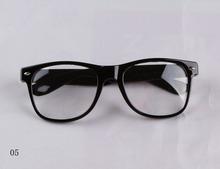 Wholesale New Arrival 9 Colors Retro Frame Trendy Glasses With No Prescription Lenses HG 0062