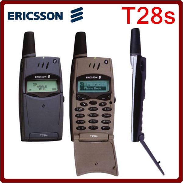 T28 Original Unlocked Sony Ericsson T28s Flip 2G GSM 900/1800 Mobile Phone Useless in USA Free Shipping(China (Mainland))