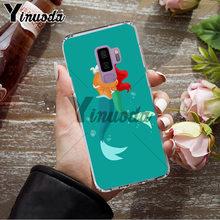Yinuoda Putri Ariel Little Mermaid Putri Salju Phone Case untuk Samsung S9 S9 Plus S5 S6 S6edge S6plus S7 S7edge s8 S8plus(China)