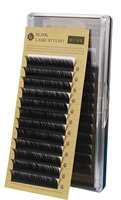 Blink Black Mink Individual False Eyelashes For Eyelash Extension  Tray Eyelash  J Curl Thickness 0.10/0.15/0.20/0.25mm 7mm-15mm