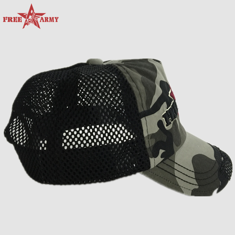 2016 Baseball Camouflage caps snapback unisex hat printing diamond caps outdoor men gift army green retail and wholesale G11393B(China (Mainland))
