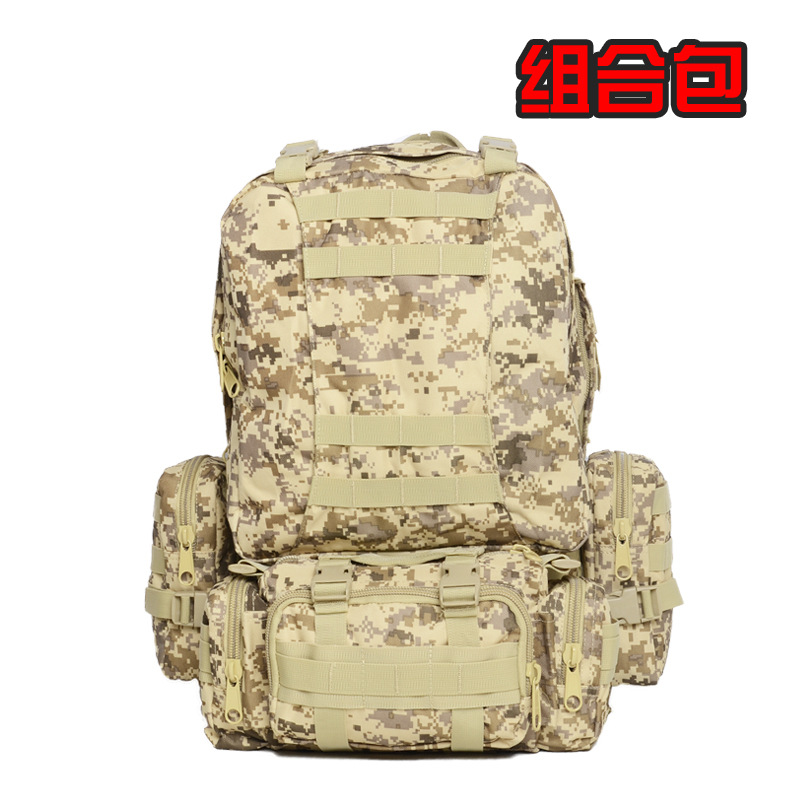 Package attack backpack backpack tactical travel bag package camouflage field one generation A outsourcing households<br><br>Aliexpress