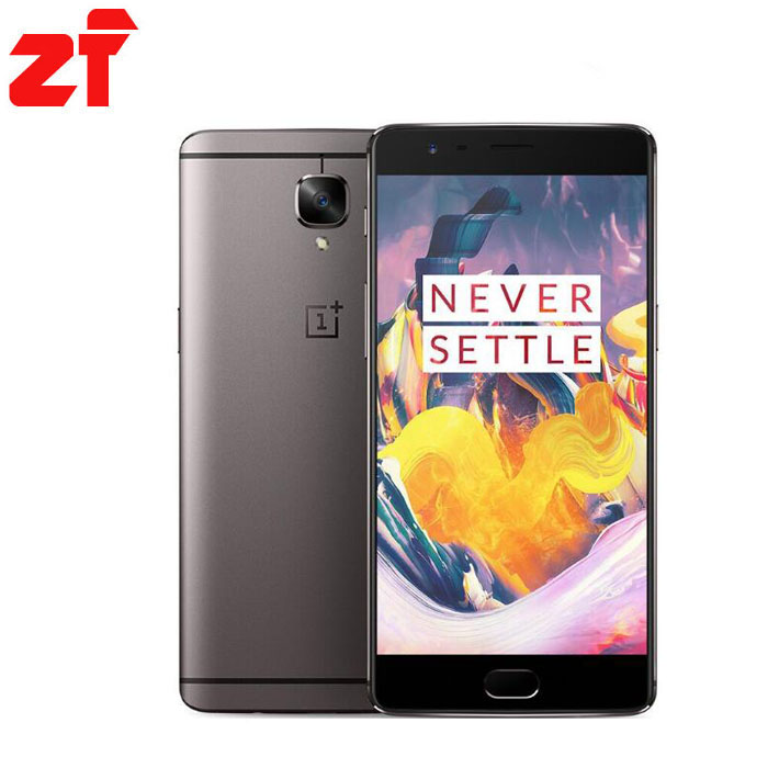 Original OnePlus 3T A3000 5.5 inch 1920*1080p 16.0MP Smartphone Snapdragon 821 6GB RAM 64GB ROM CDMA Touch ID NFC Mobile Phone  -  zhuifeng mobile phone Store store