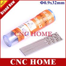 Free Shipping 20pcs/lot Micro HSS 0.9mm High Speed Steel Straight shank Twist Drill Bits(China (Mainland))