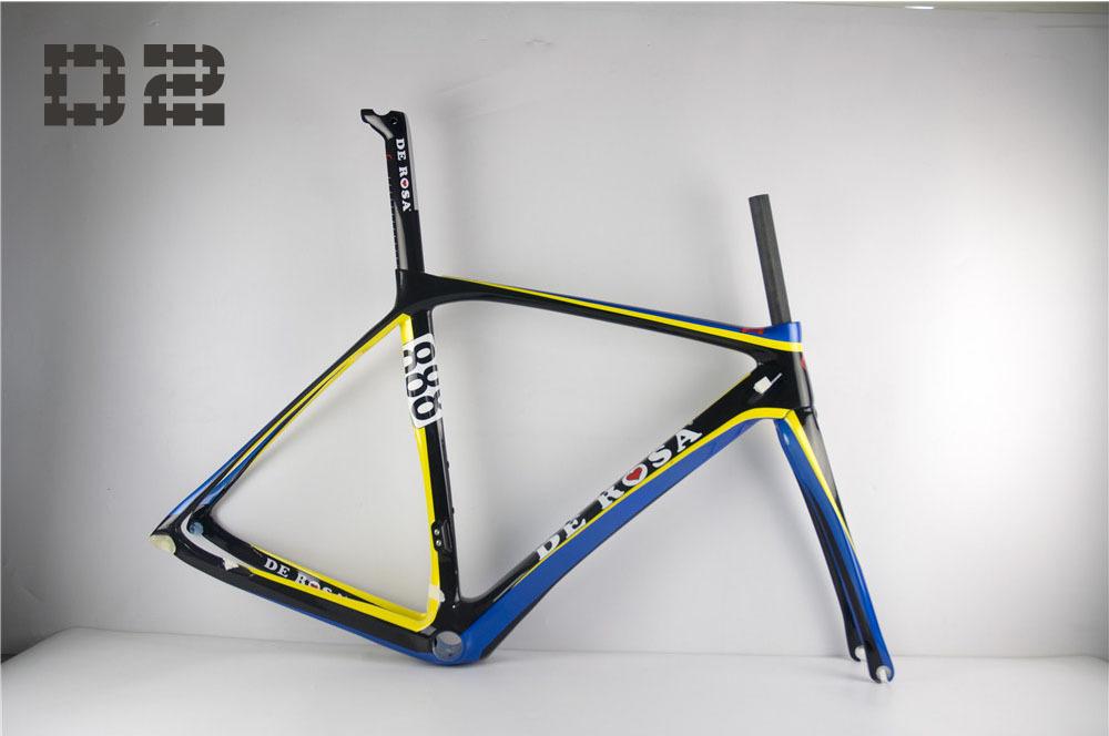 De Rosa AERO carbon frame,2014 road race bike carbon frame,700C carbon road bike frame<br>