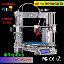 Auto leveling Prusa i3 3D Printer DIY kit Melzi control board  automatic level bowden extruder P802Y(China (Mainland))