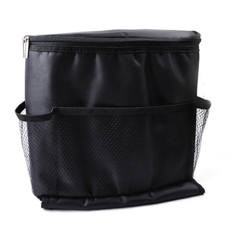 Car Covers Seat Organizer Insulated Food Storage Container Basket Stowing Tidying Black Bags car styling(China (Mainland))