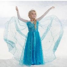 Retail, 2015 New  children clothes Party Dress For Girl  Princess Dresses Vestidos Upscale elegant evening dress free shipping