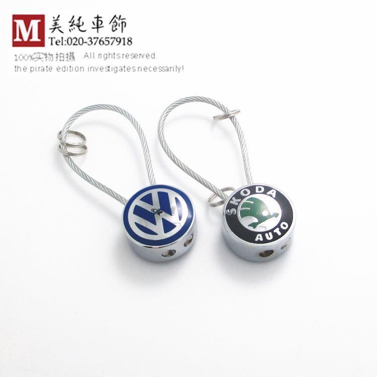 Volkswagen VW new polo new Jetta new Magotan golf 6 CC Passat EOS Scirocco Jetta MK5 MK6 Skoda Octavia Superb Fabia car keychain(China (Mainland))
