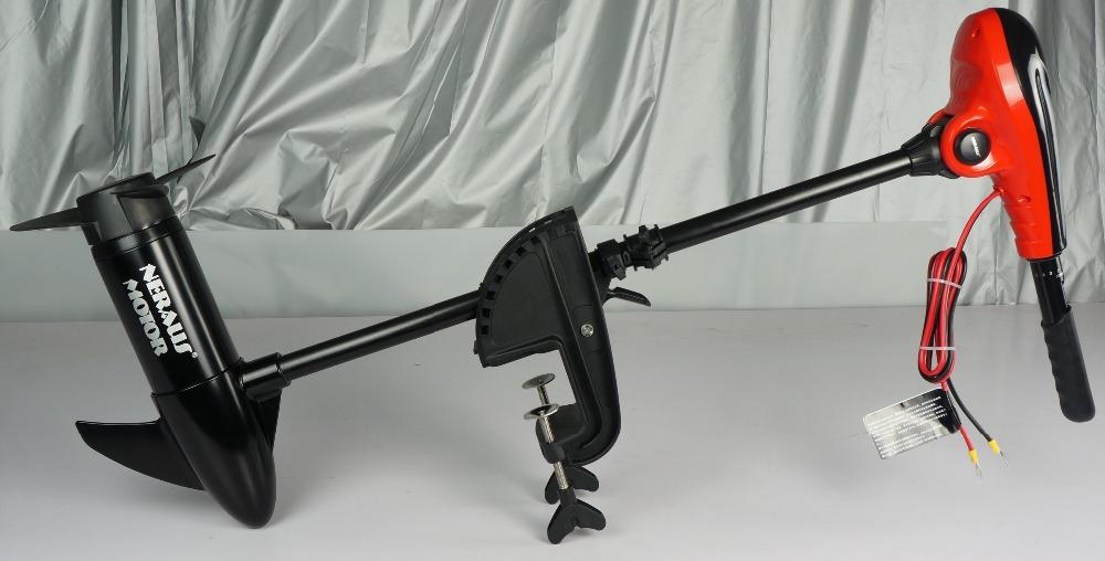 12v 55lbs motorguide bow mount trolling motor minn for Minn kota foot control trolling motor