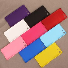 High Quality Rubber Matte Hard Back Case Cover +Screen Protector For Sony Xperia M5(China (Mainland))