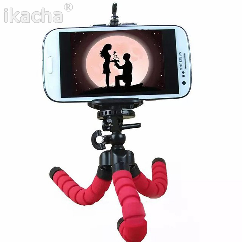 Flexible Octopus Digital Camera Tripod Holder, Universal Gopro Mount Bracket Stand Display Support For Cell Phone AccessoriesNew(China (Mainland))