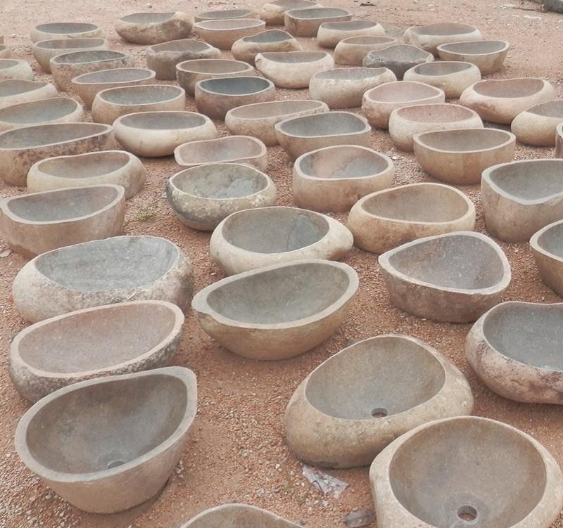Bagno Design Ecologico In Pietra : Design bagno in pietra