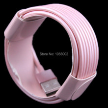 Wholesale price 1000pcs/lot 3m 10ft 8pin rose gold usb data cable for apple iphone 5 5s 6 6s for ipad air for ipad mini ios 9(China (Mainland))
