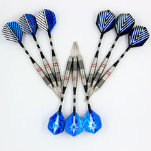 9pcs/3 sets of Steel Tip tungsten steel 23g Darts with Aluminium Alu Shafts and darts flights flight - Free Shipping(China (Mainland))