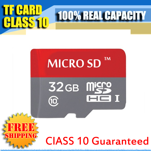 2016 Newest micro sd card/TF memory card class 10 32GB 16GB 8GB 4GBmicro sd memory cards gift card adapter Free shipping(China (Mainland))