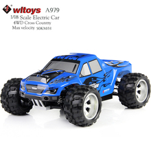 Buy WLtoys A979 RC Car 4WD High Speed Electric Car 2.4G 1:18 Scale 4WD Monster Truck Off-road Remote Control Vehicle 50KM/H for $86.99 in AliExpress store