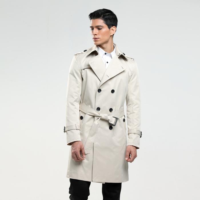 6XL мужская пальто размер пользовательского-портной Англия человек двубортный длинные гороха пальто тренч slim fit классический плащ в качестве подарков