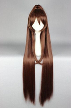 wholesale_jewelry_wig $ Cosplay Long Brown Kantai Collection KanColle-Yamato Lolita Party Anime WigAA(China (Mainland))