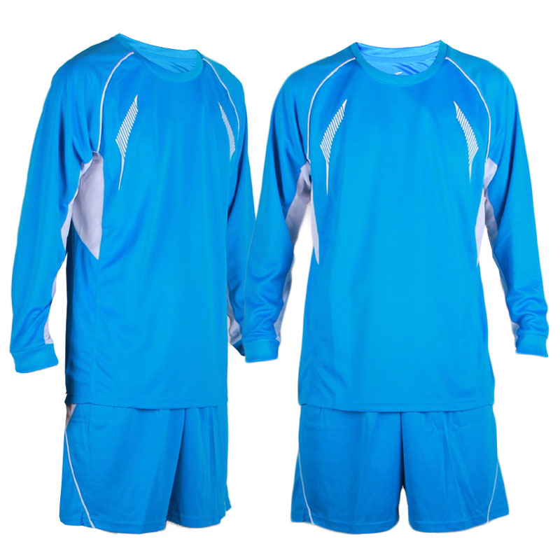 Breathable 2016/17 survetement football kids long sleeve soccer jersey suits football jersey kits blank soccer sport uniforms(China (Mainland))