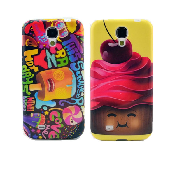 Cute Cartoon Chocolate Boy Ice Cream Soft TPU Case Back Gel-Silicon Cover Samsung Galaxy S4 I9500 - APbest Electronic Store store