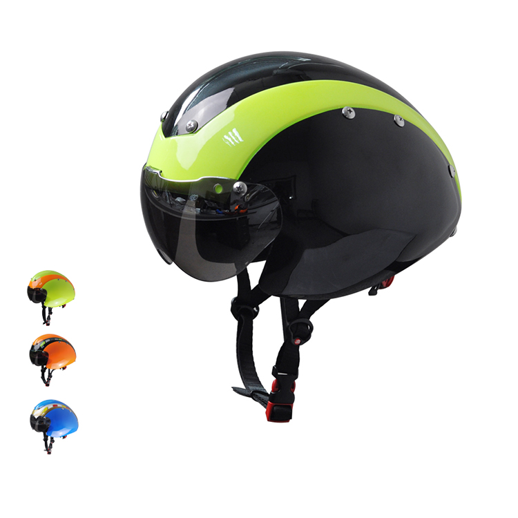 Top Professional TT Cycle Helmet Time Trial Sport Cycling Helmets Goggle (High Quality+Ultra Light)(China (Mainland))