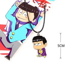 [PCMOS] Six Same Faces Konya wa Saikou Mr.Osomatsu Matsuno Ichimatsu Necklace Cosplay Anime Character Pendant 16041209