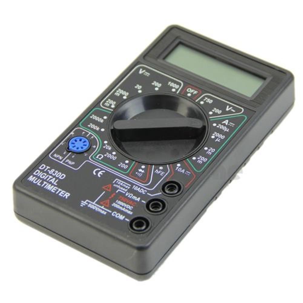Мультиметр LCD DT830D