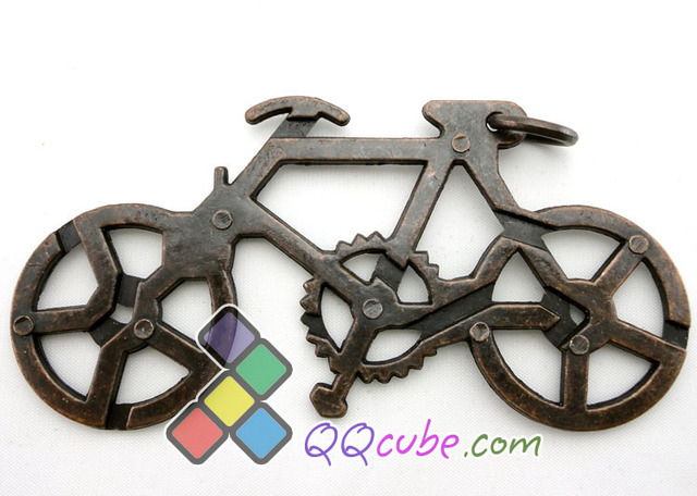 Table metal unlatching intelligence toys bicycle chain