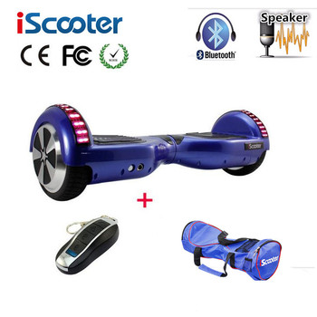 iScooter Bluetooth Hoverboard 2 smart balance wheel Electric Skateboard Self Balancing Scooter patinete electrico Hover board