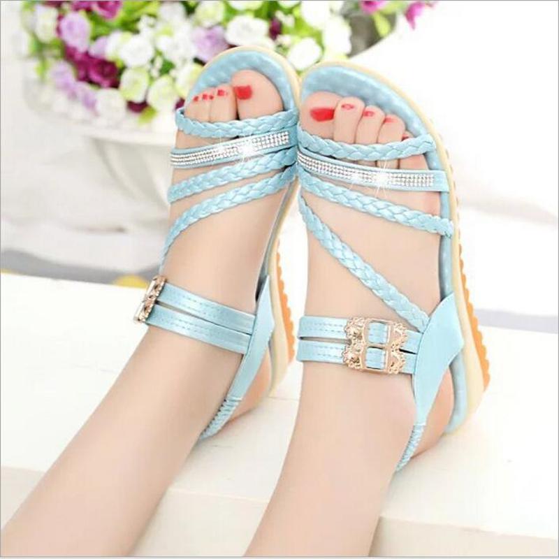 Original 2016 Fashion New HookampLoop Women Shoes Pointed Toe High Heels T Type