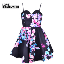 Buy Love&Lemonade Spring Puff Print Tee Dress TB 7310 for $32.99 in AliExpress store