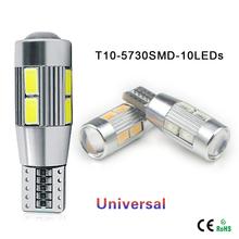 1X Aluminum Body High Power HID COB T10 Auto Car LED Bulb light W5W 194 192 158 168 921 CANBUS Parking Fog Interior lamp(China (Mainland))
