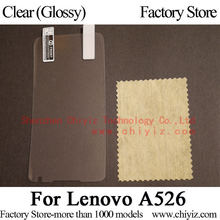 Clear Glossy LCD Screen Protector Guard Cover Protective Film Shield For Lenovo A526 / Lenovo A526i