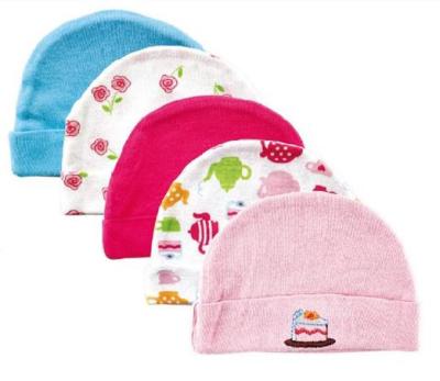 5pcs/lot New Baby Hat Beanie Baby Hat Kids Baby Photo Props Popular Printed Children Cap Newborn Hats & Caps Baby Accessories(China (Mainland))