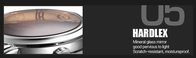 ถูก ร้อนนาฬิกาผู้ชายยอดนิยมแบรนด์หรูSkoneกีฬากองทัพทหารอัตโนมัติวิศวกรรมนาฬิกาข้อมือสายหนังrelógio masculino