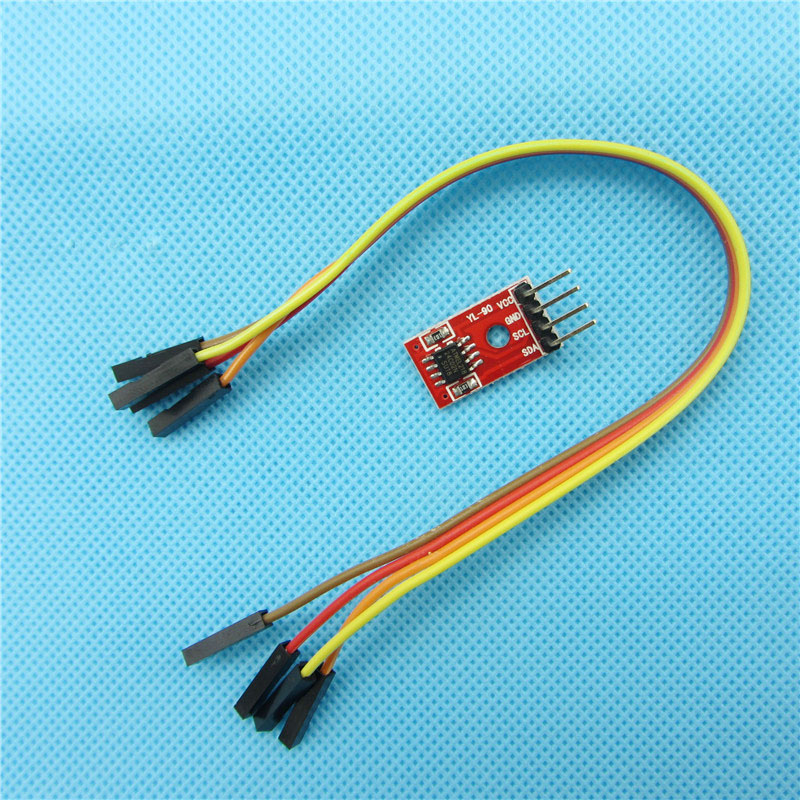 AT24C02 IIC/I2C Serial Interface Port EEPROM Memory Module For DIY Electronic Car 3.3-5V(China (Mainland))