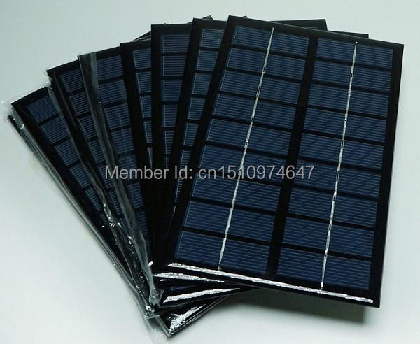 9V 3W A grade High efficiency Epoxy Solar Panel Solar Cell Panel For Make Solar Light Other Solar Kits 2pcs/lot Free shipping(China (Mainland))