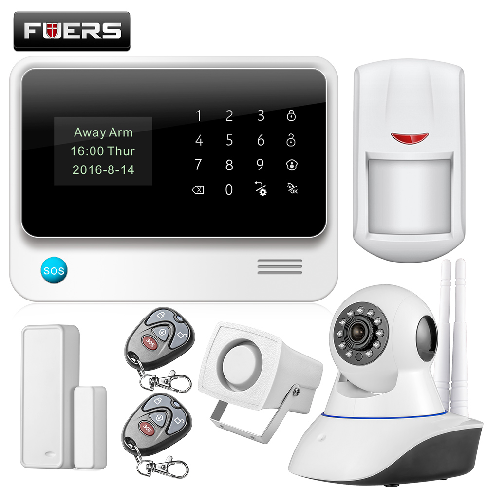 Sistema de alarma gsm c mara compra lotes baratos de - Sistema de alarma gsm ...